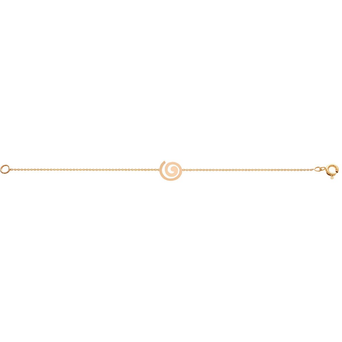 دستبند طلا spiral