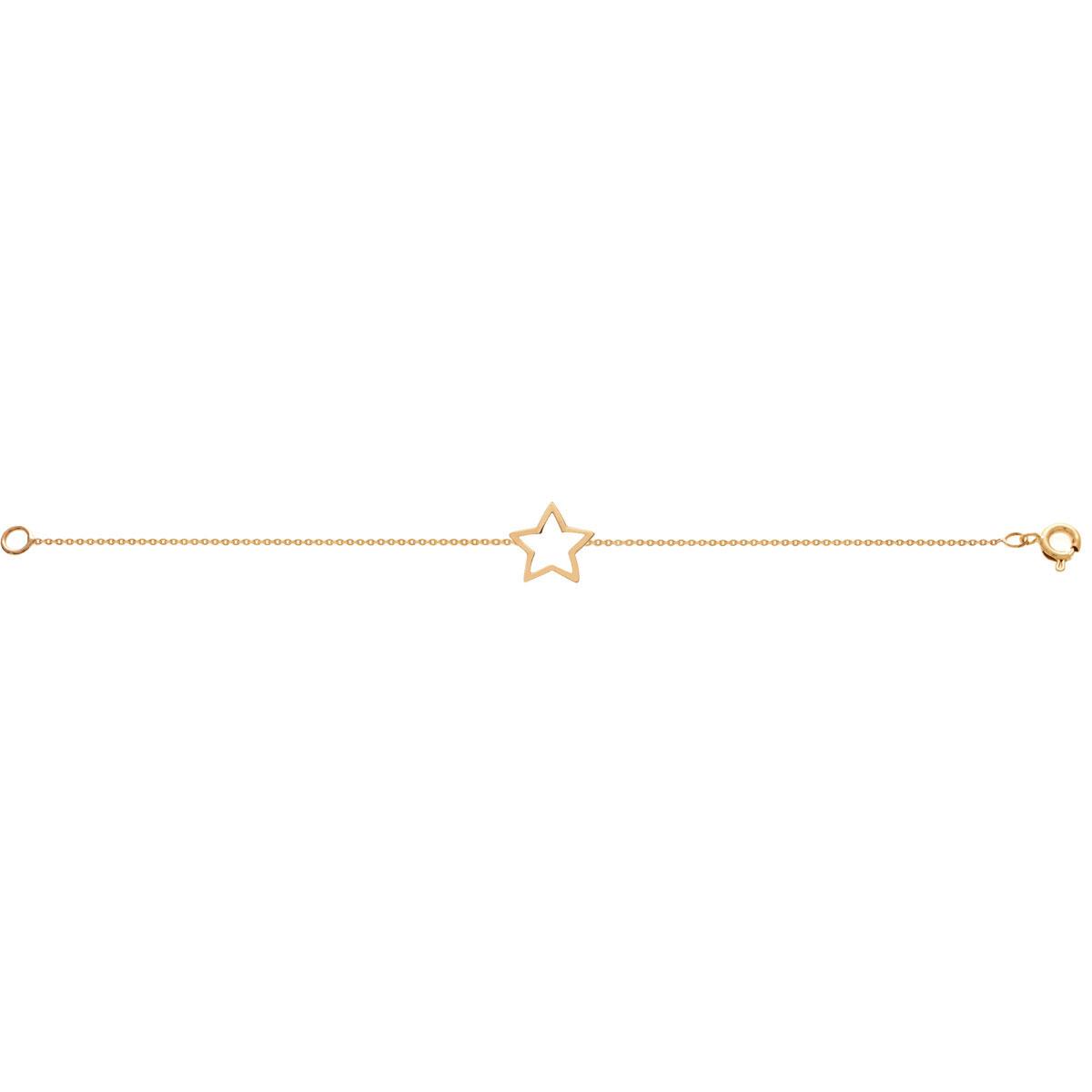 دستبند طلا ستاره