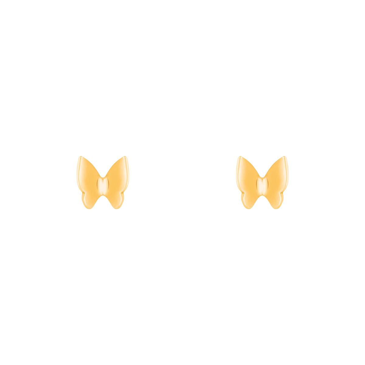 گوشواره طلا پروانه بزرگ