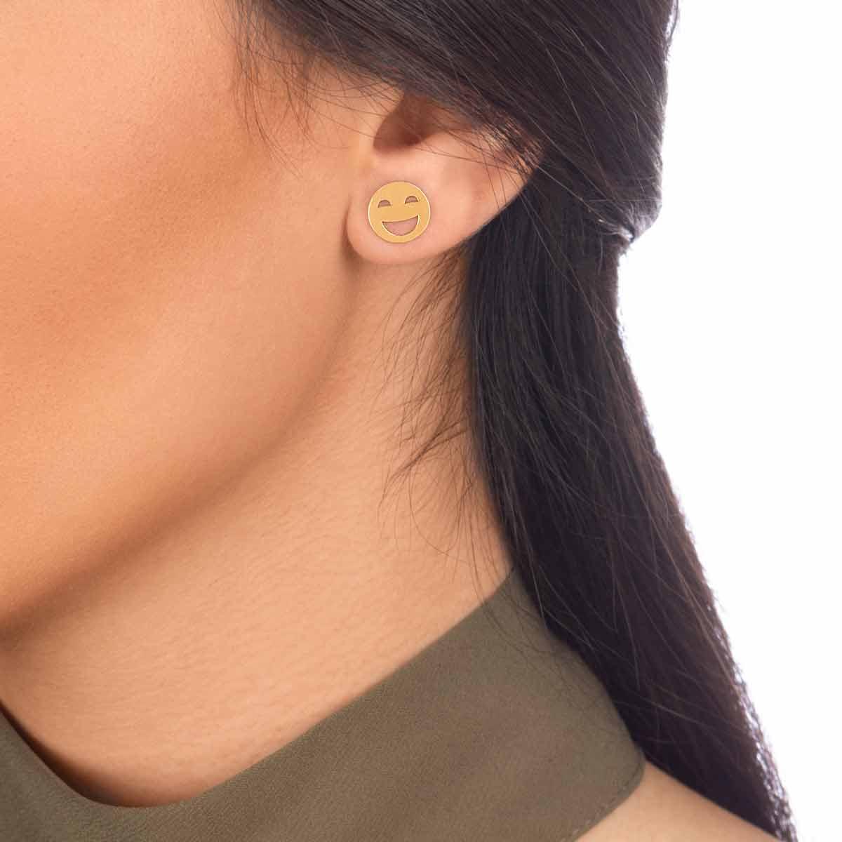 گوشواره طلا ایموجی