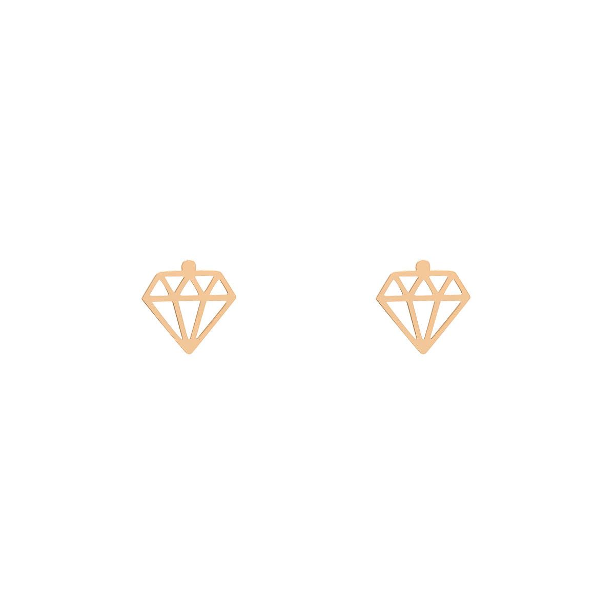 گوشواره طلا الماس