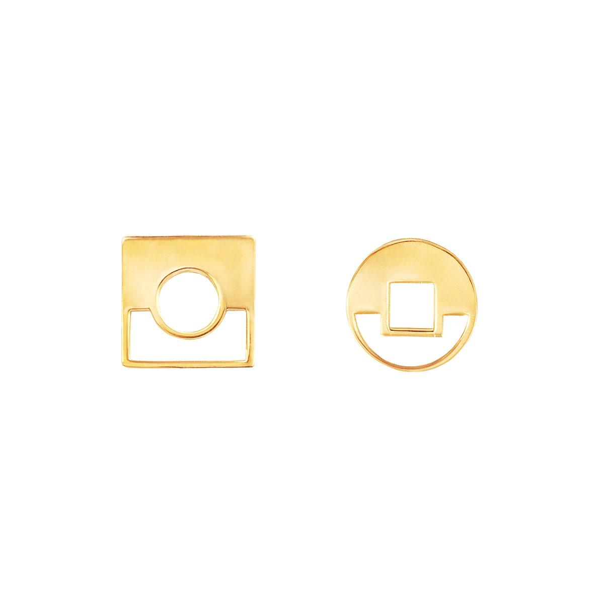 پرسته گوشواره طلا contrast