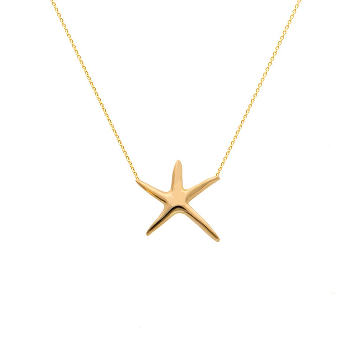 گردنبند طلا ستاره دریایی