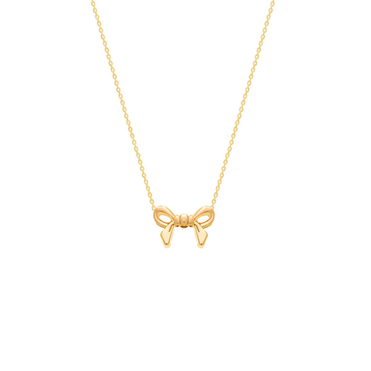 گردنبند طلا پاپیون