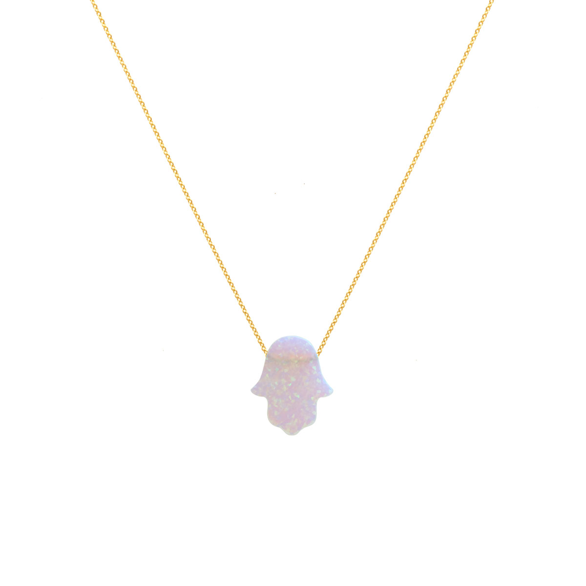 پرسته گردنبند طلا Hamsa