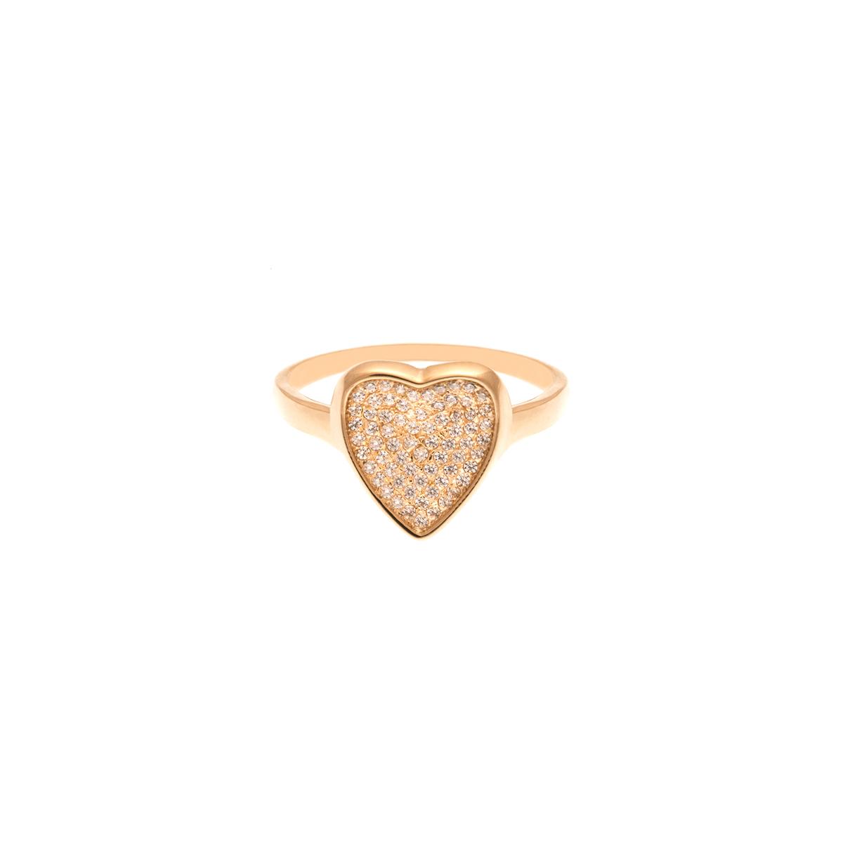 انگشتر طلا قلب