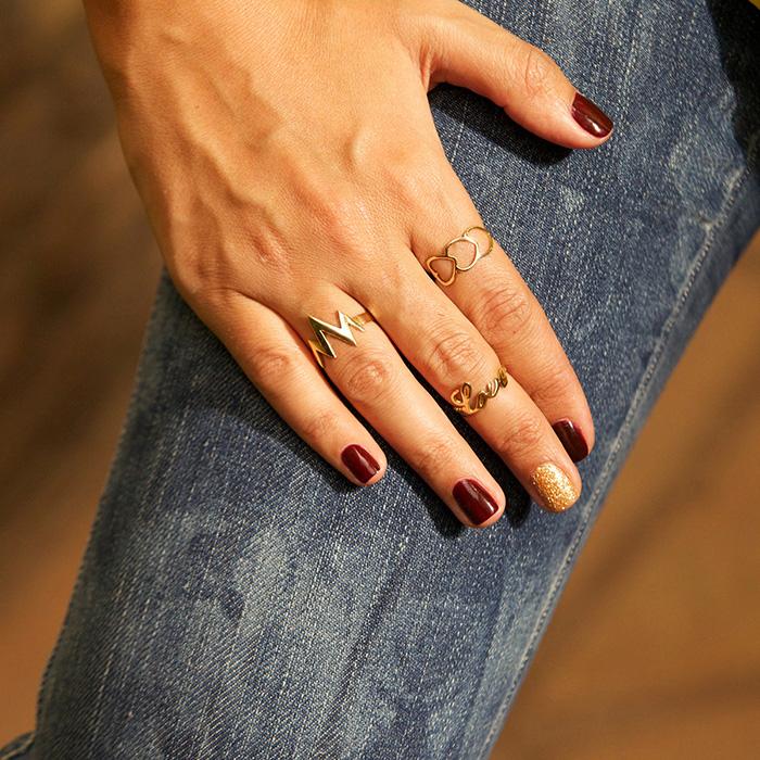 انگشتر طلا رعد و برق 2