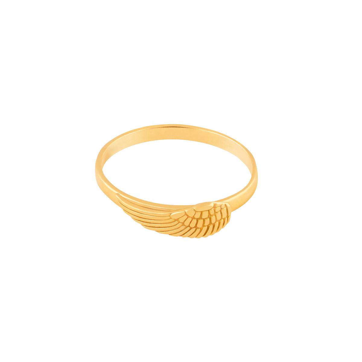 انگشتر طلا بال فرشته