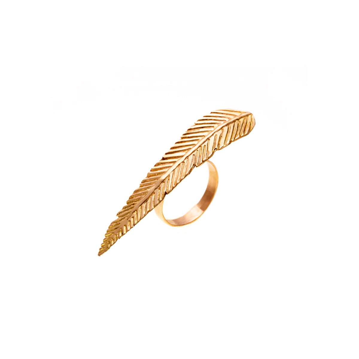 انگشتر طلا پر سه انگشتی