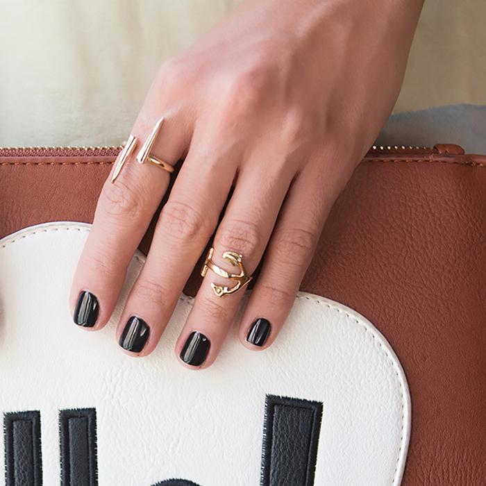 پرسته انگشتر طلا میخ 2