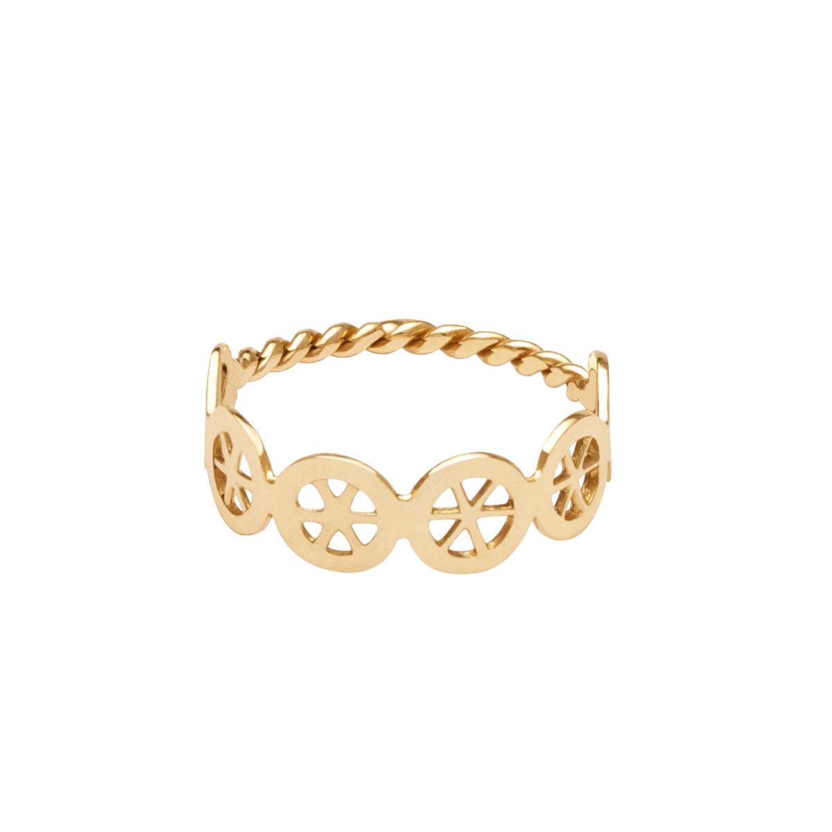 انگشتر طلا چرخ