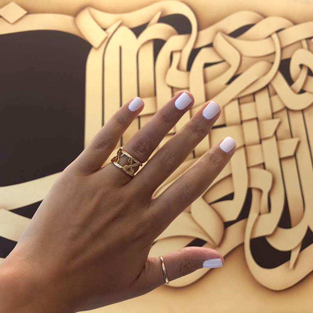 انگشتر طلا دینا 2