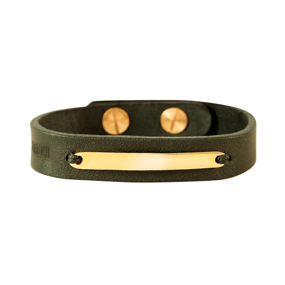 دستبند طلا پلیت