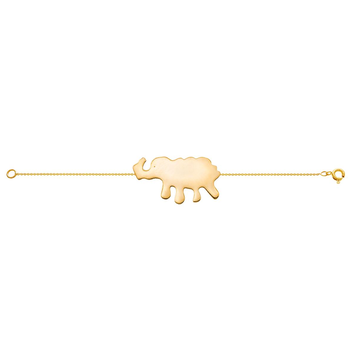 دستبند طلا فیل