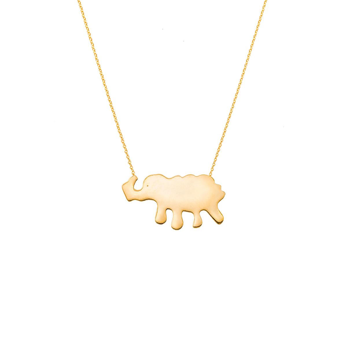 پرسته گردنبند طلا فیل