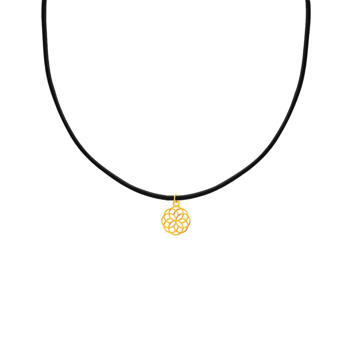 پرسته گردنبند طلا اسلیمی