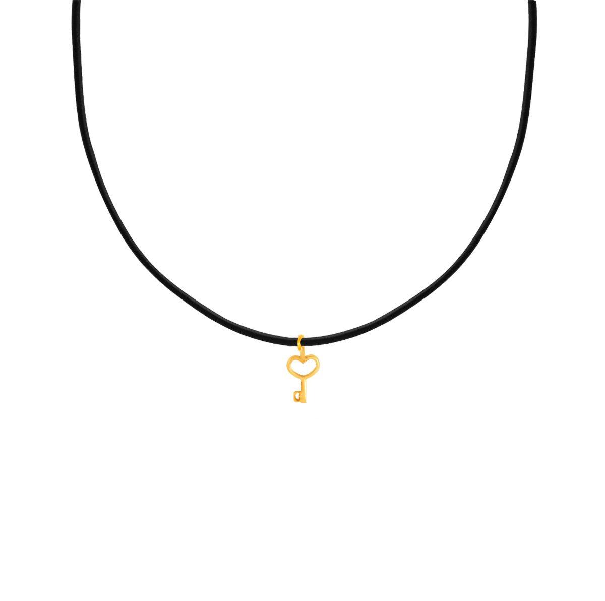 پرسته گردنبند طلا کلید