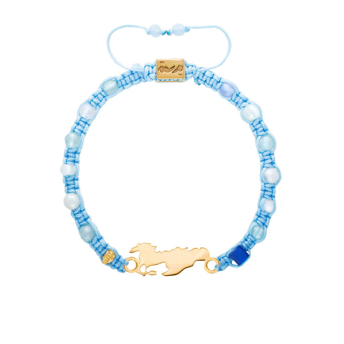 دستبند طلا اسب