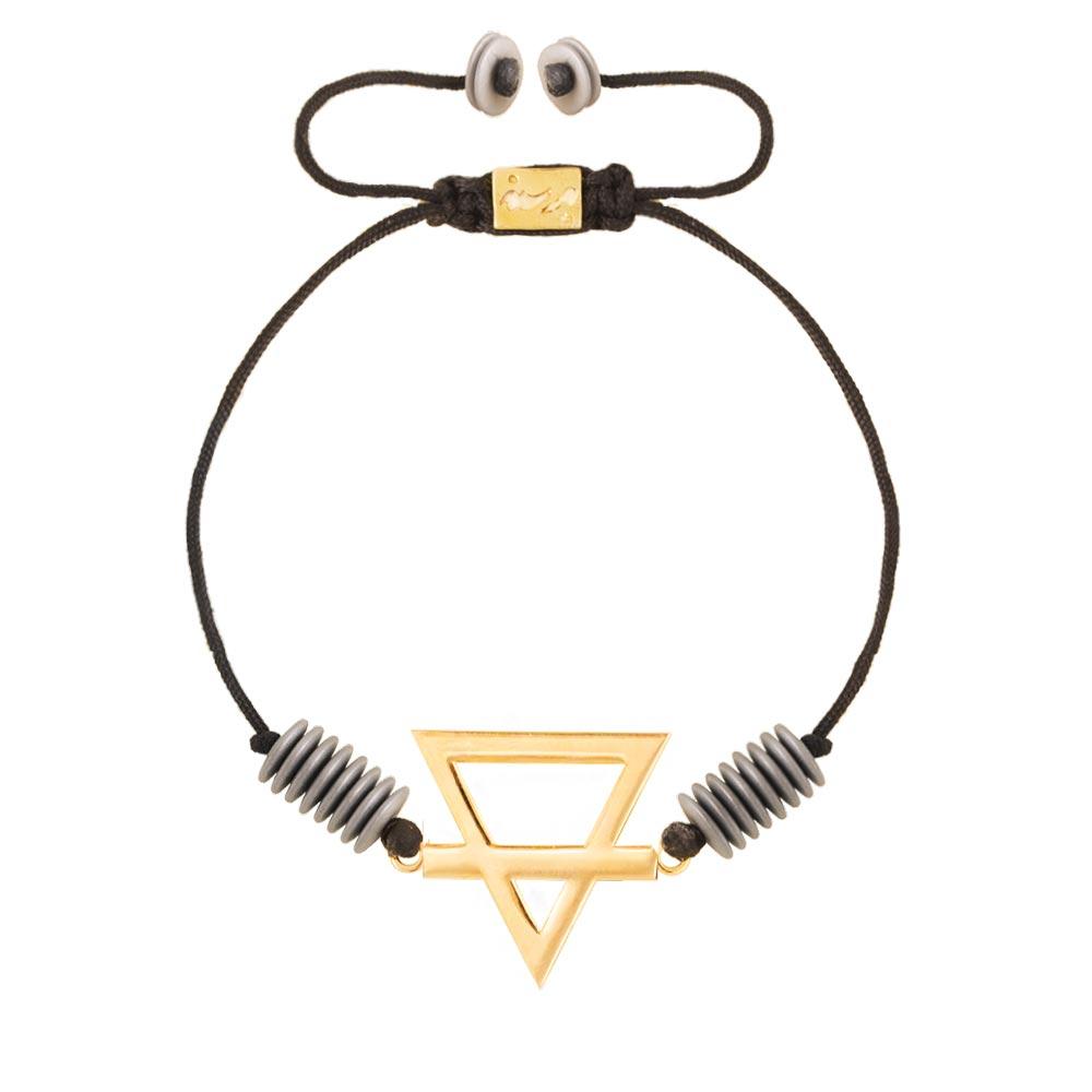 دستبند طلا عنصر خاک
