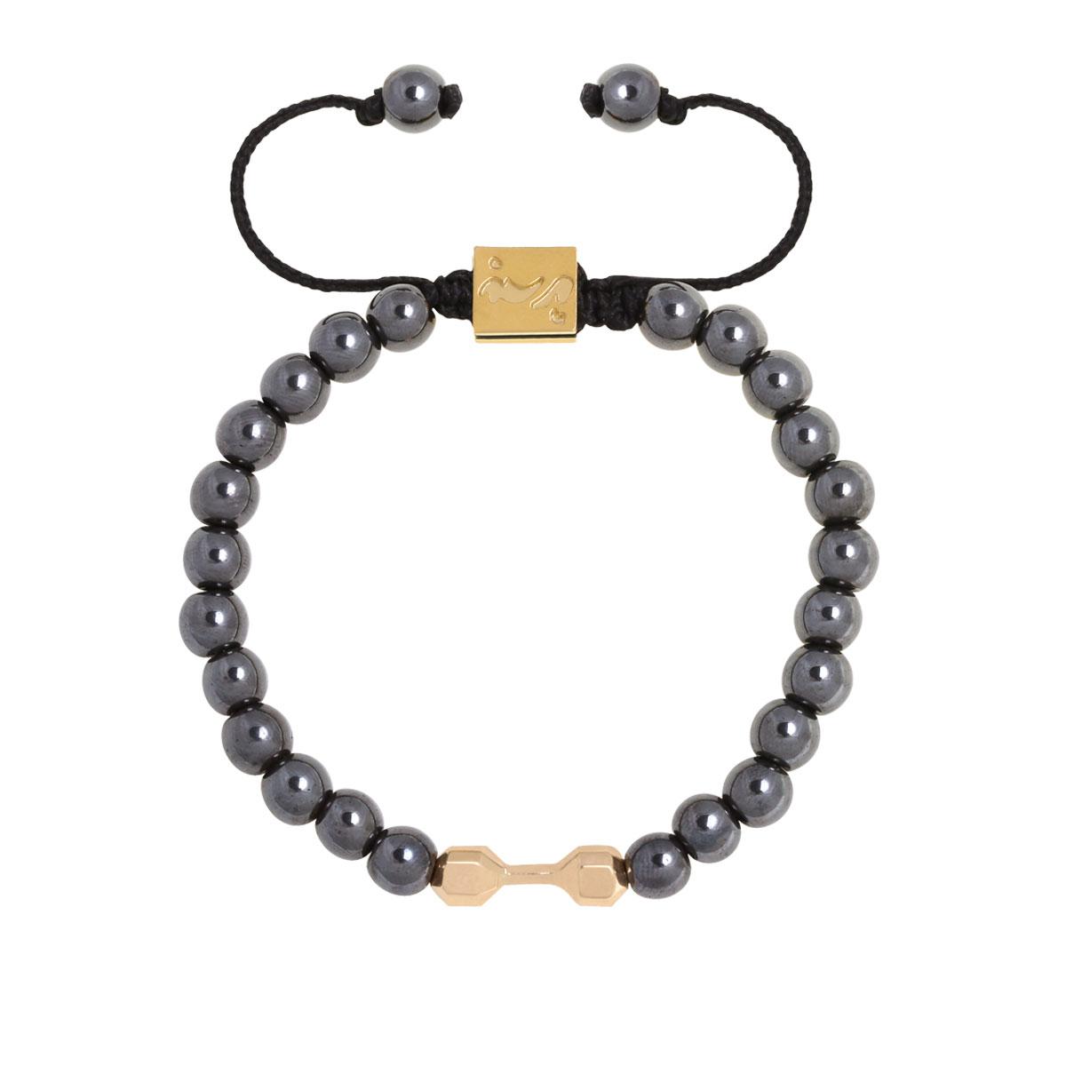 دستبند طلا دمبل