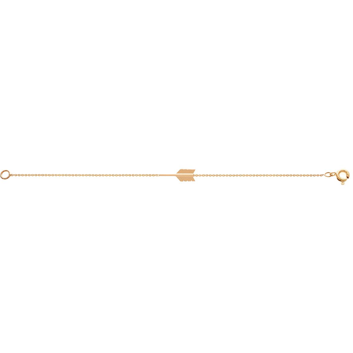 دستبند طلا تیر