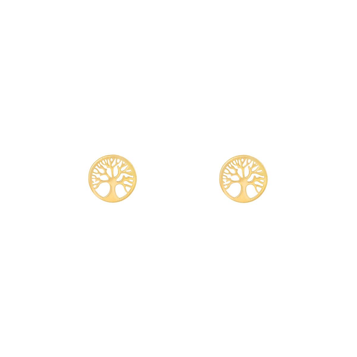 گوشواره طلا درخت زندگی
