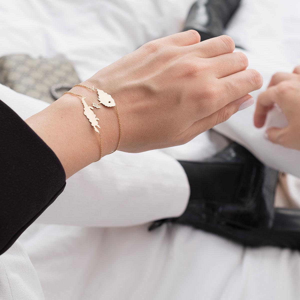 دستبند طلا نهنگ
