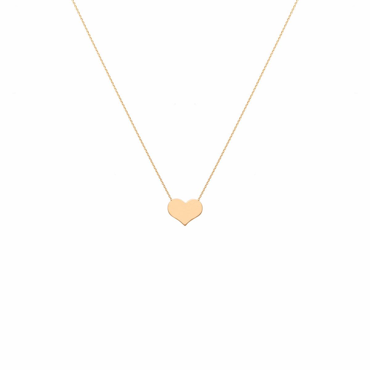 گردنبند طلا قلب کوچک