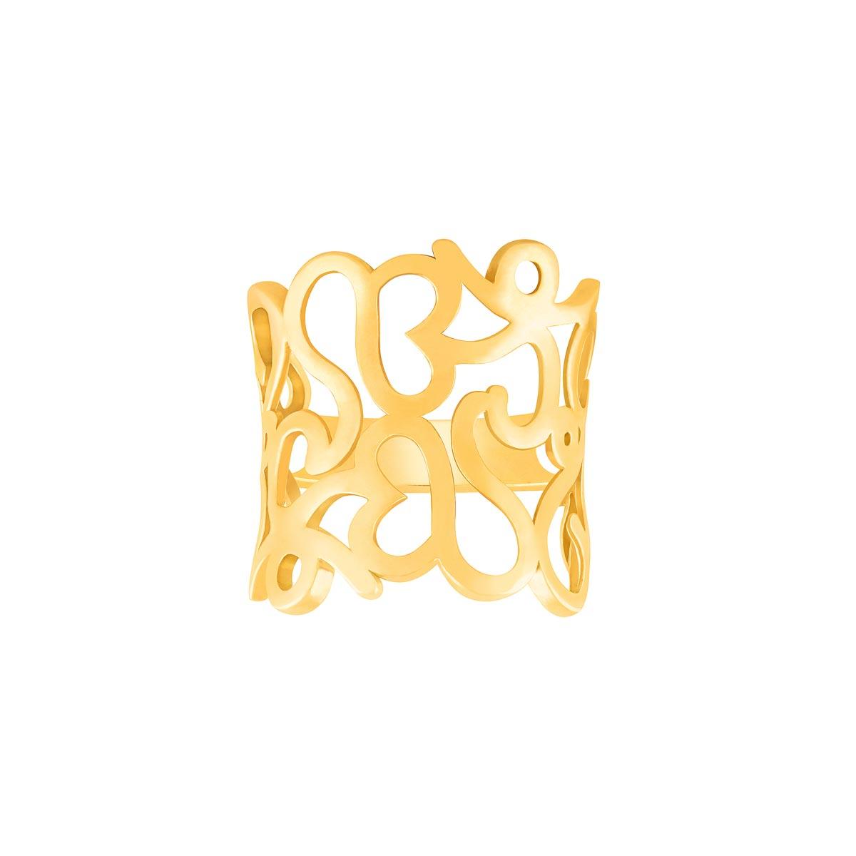 انگشتر طلا اسلیمی