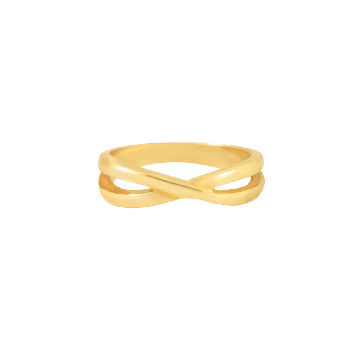 پرسته انگشتر طلا بند انگشتی ضربدر