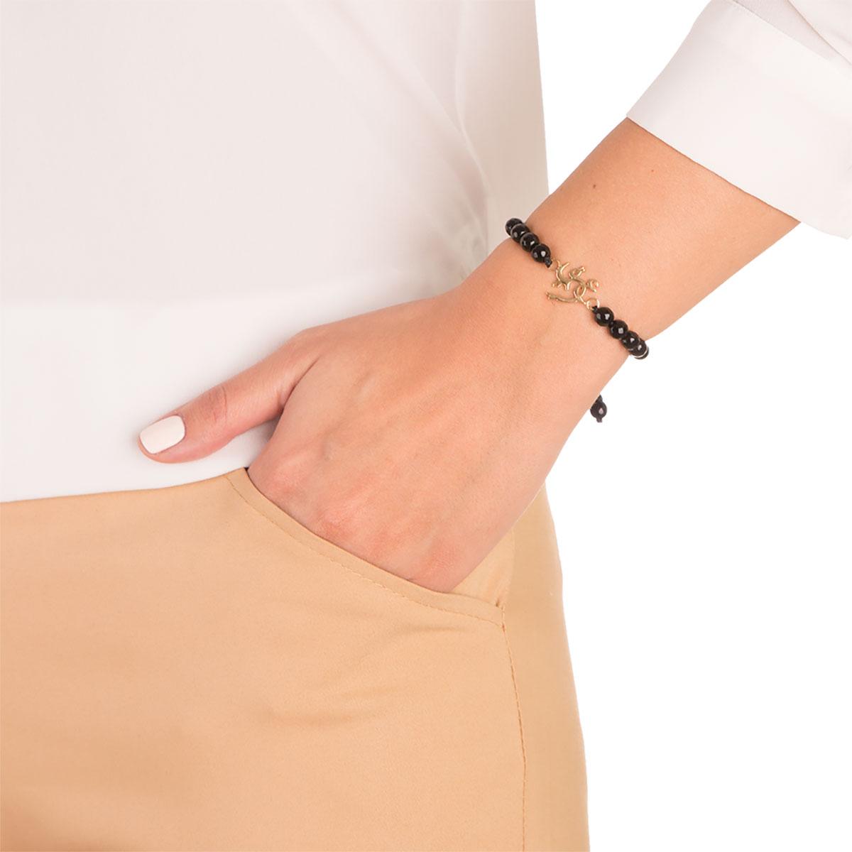 دستبند طلا عشق کوچک