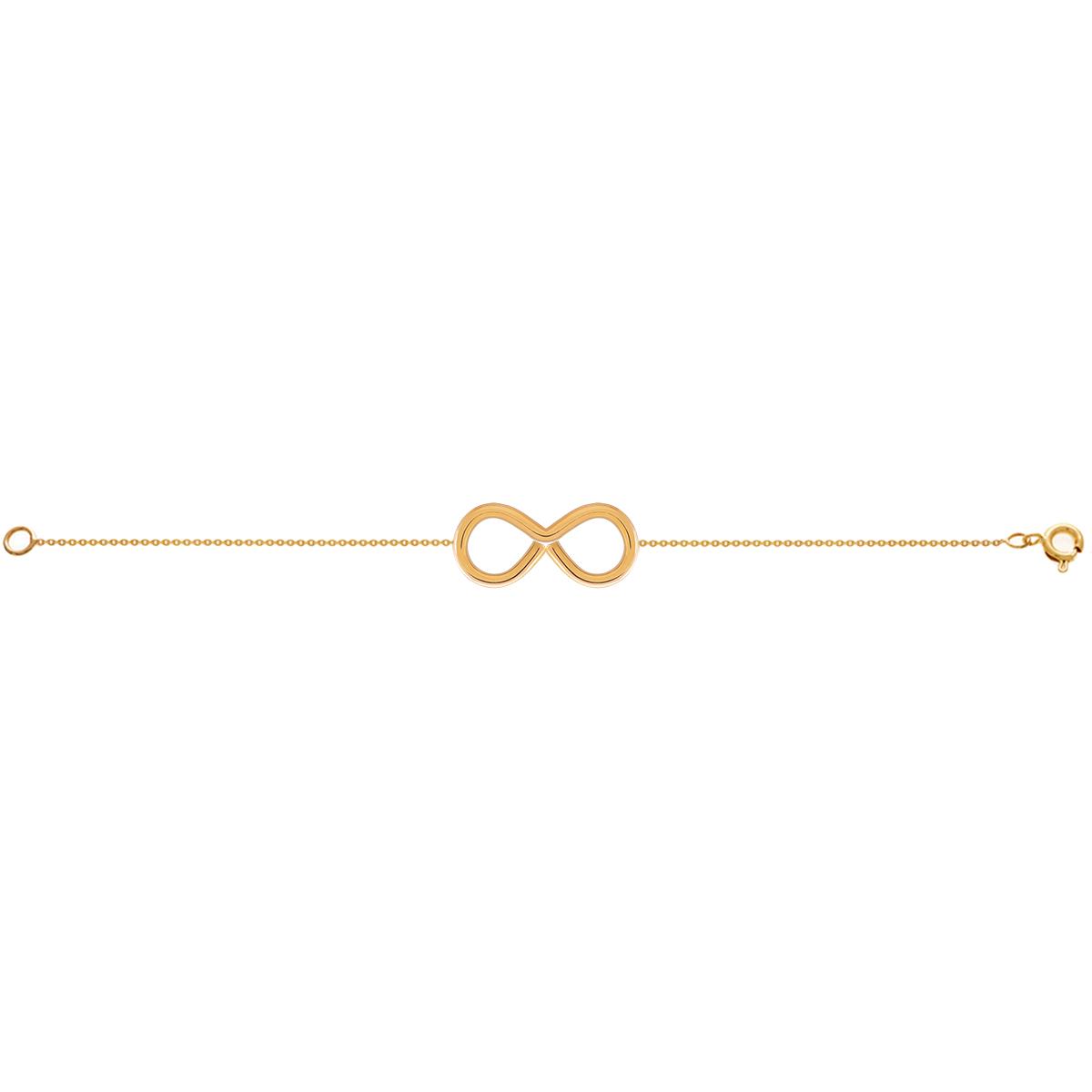 دستبند طلا بینهایت