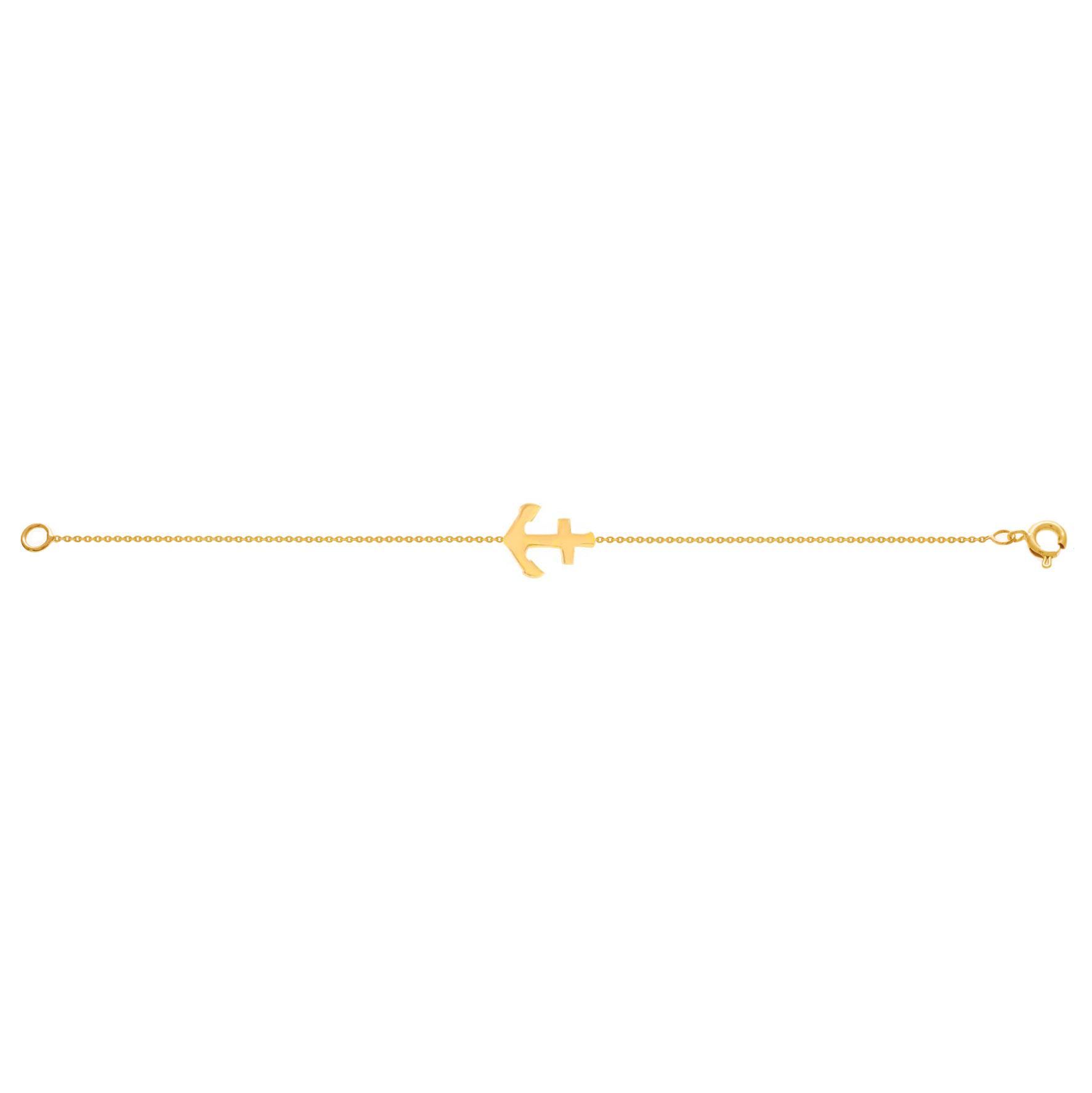 دستبند طلا لنگر