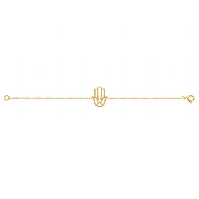 دستبند طلا دست