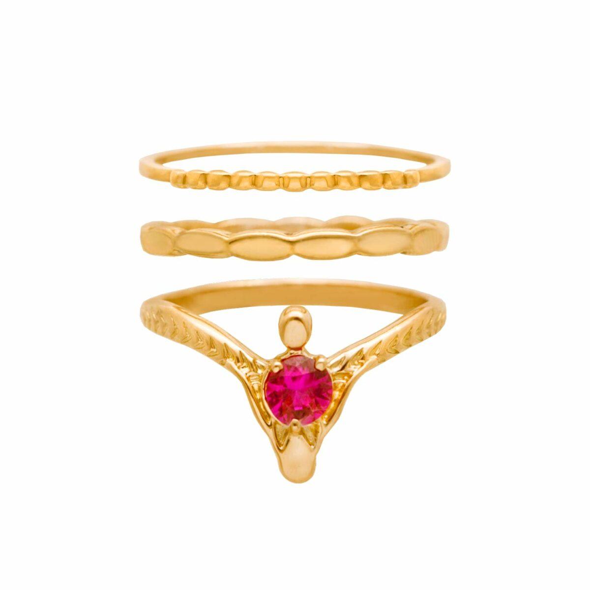 پرسته انگشتر طلا Venus