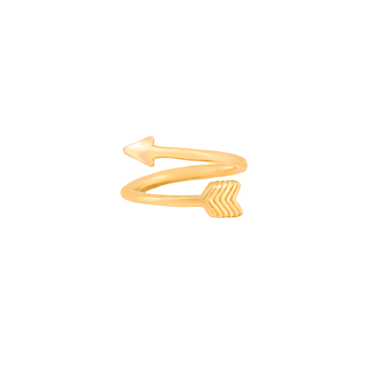 بند انگشتی طلا تیر