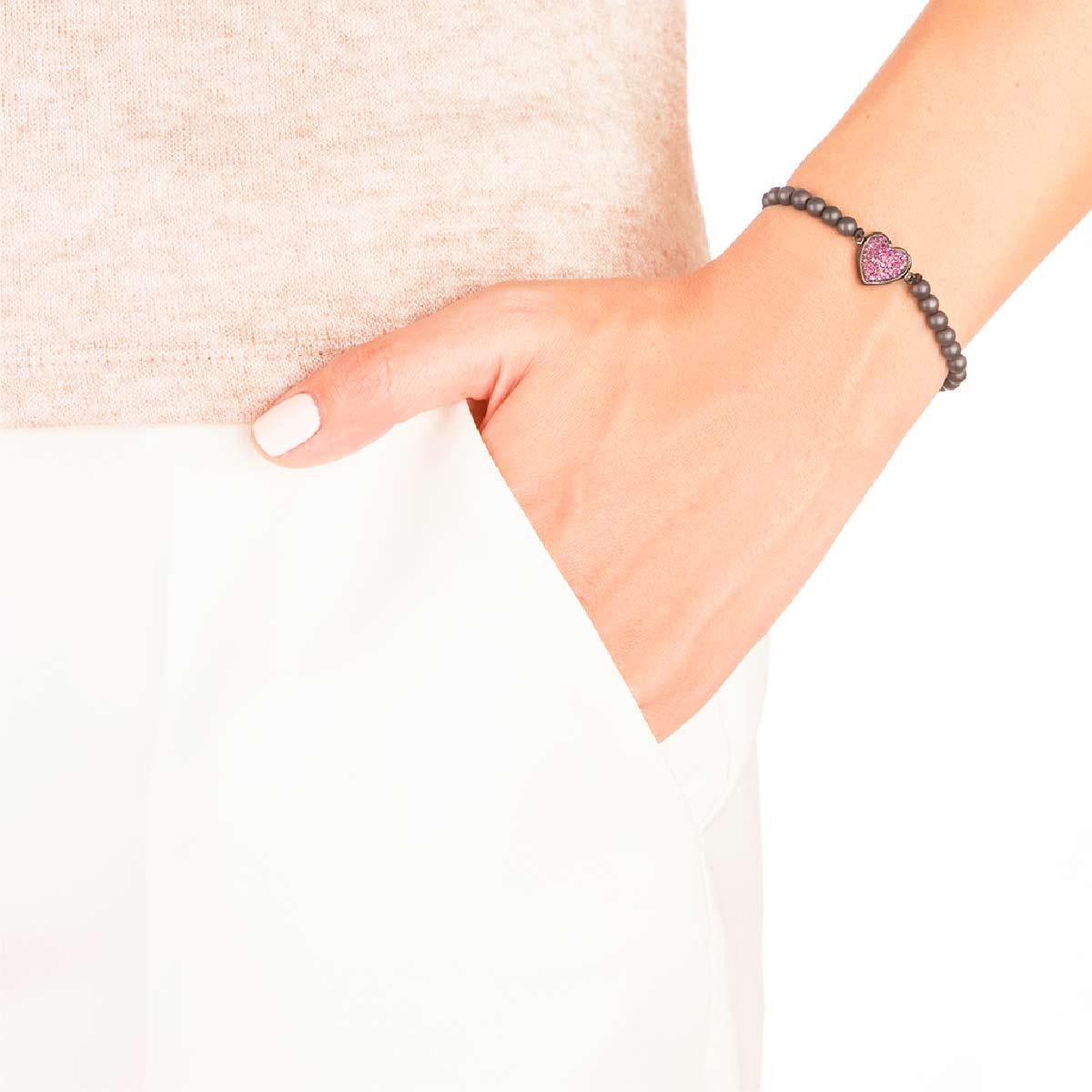 دستبند طلا Black Heart
