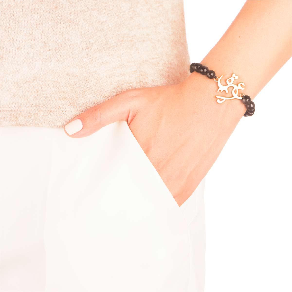 دستبند طلا دست کوچک