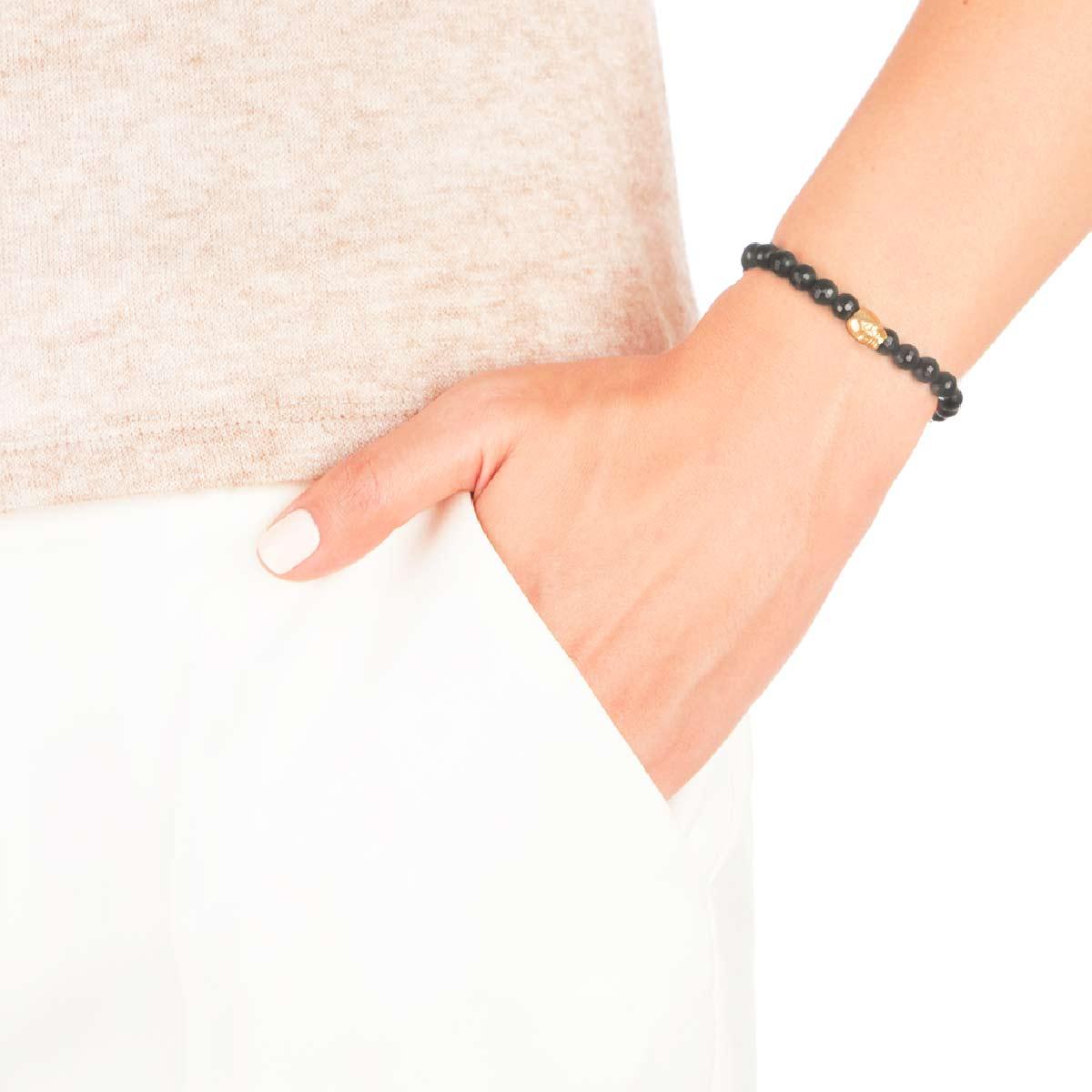 دستبند طلا اسکلت
