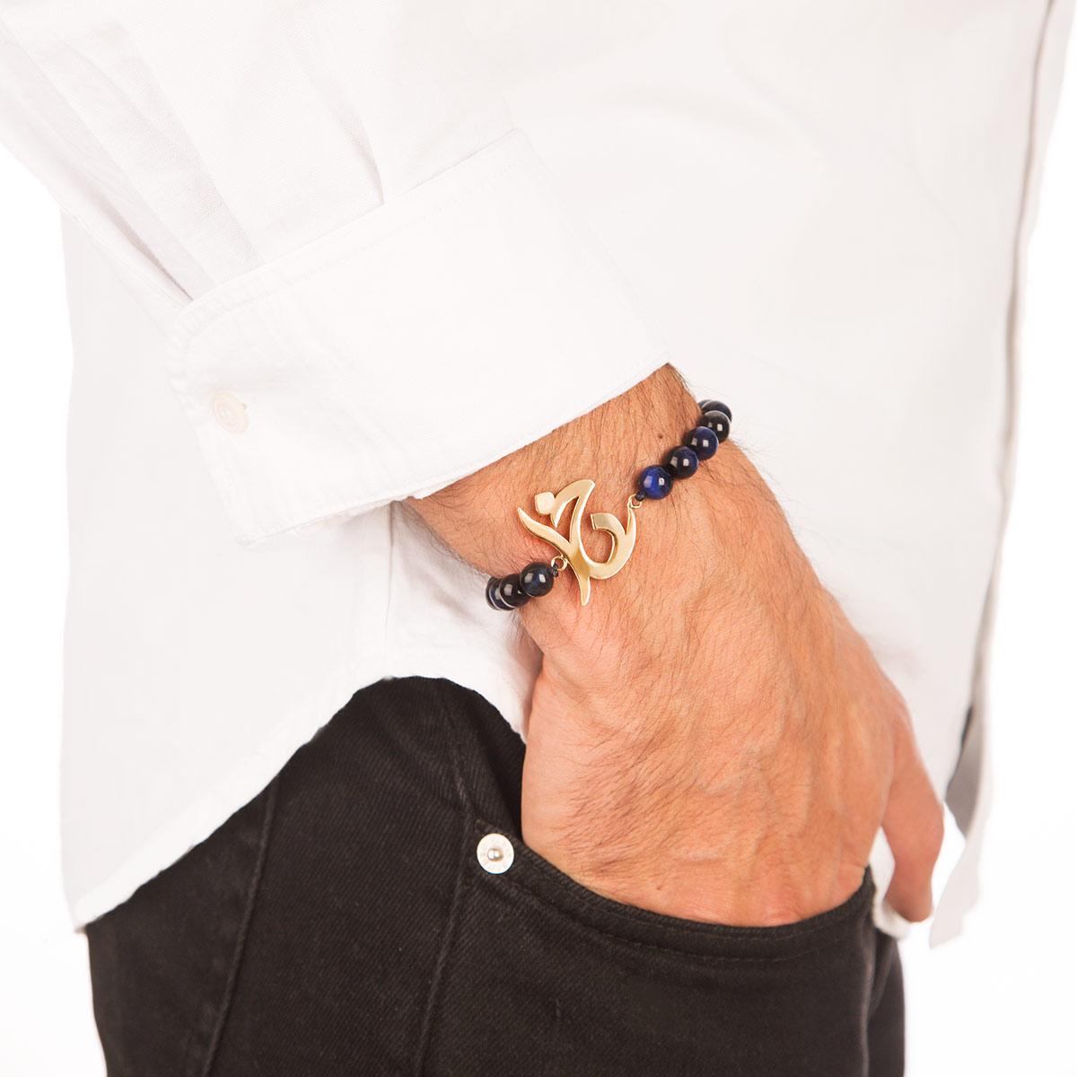 دستبند طلا خدا
