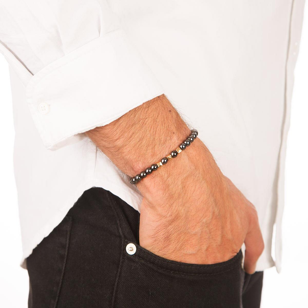 دستبند طلا مکعب