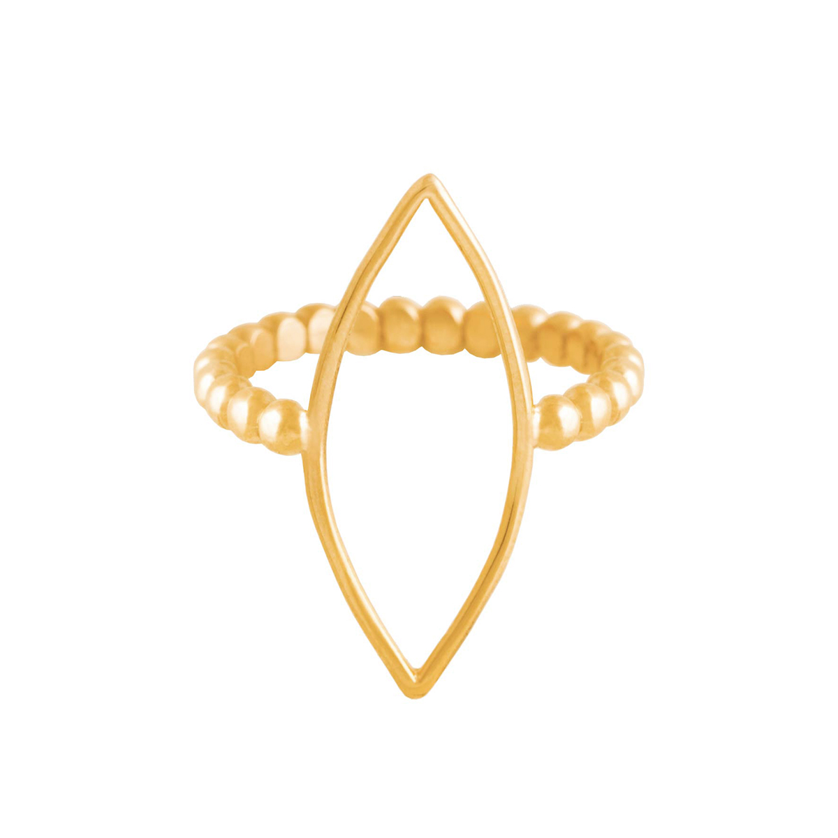 پرسته انگشتر طلا hazere