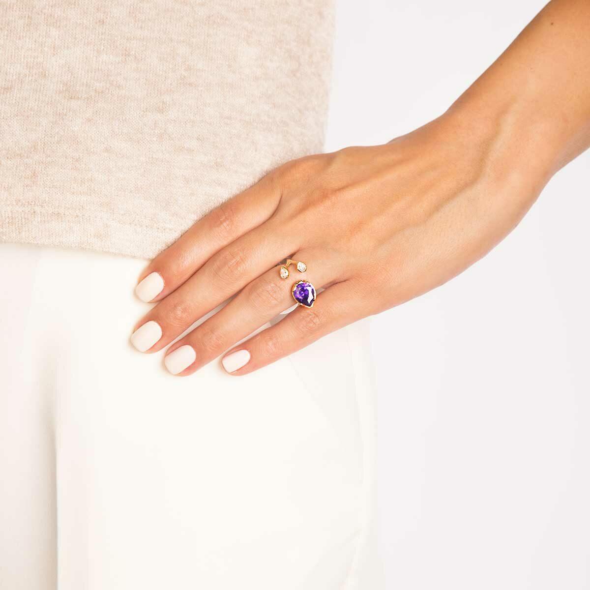 انگشتر طلا آنیتا پرسته