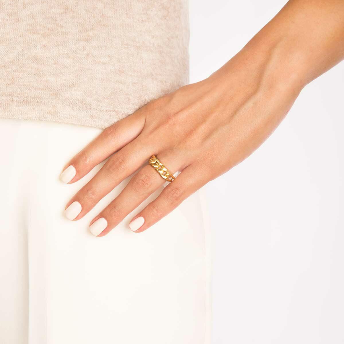 انگشتر طلا کارتیه پرسته