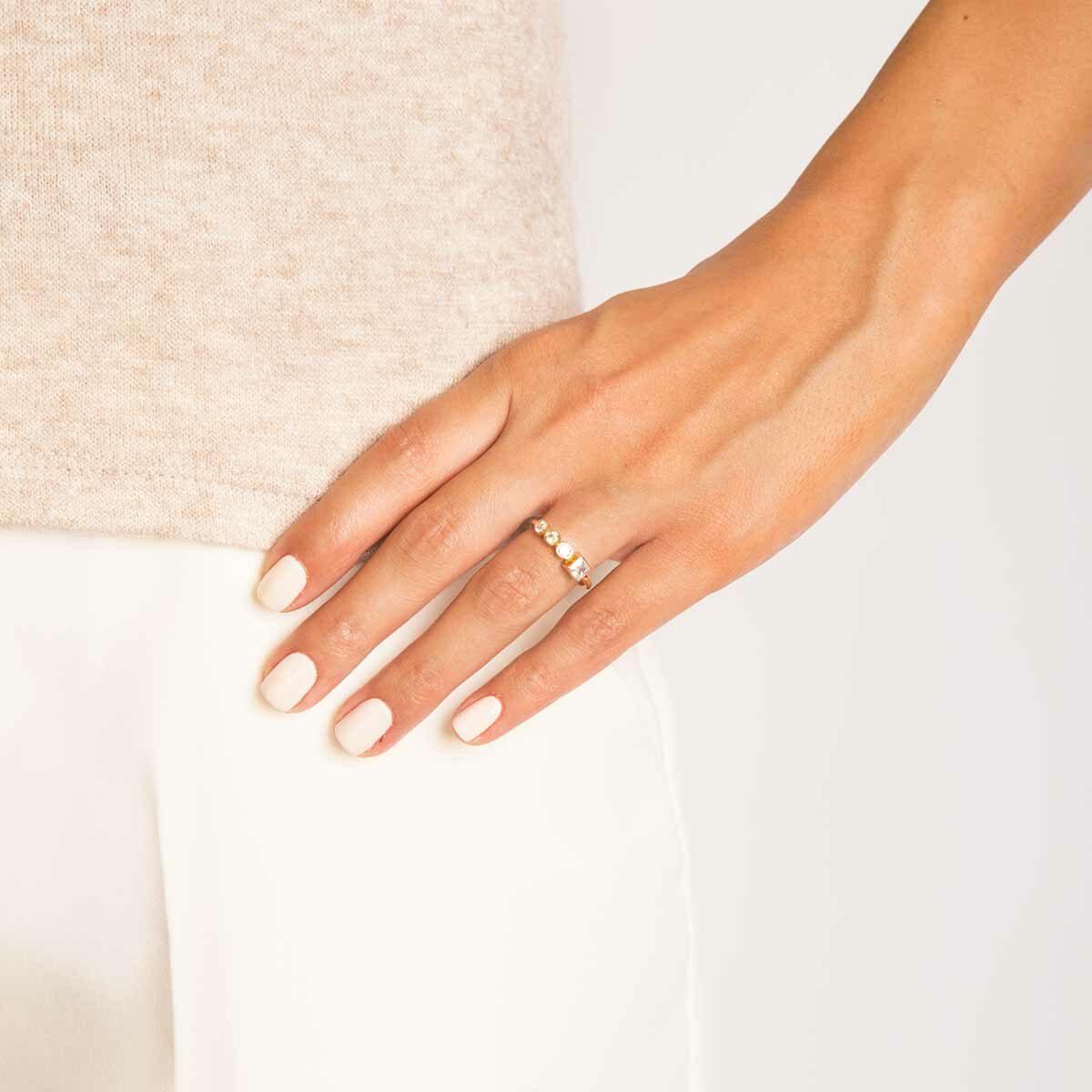 انگشتر طلا لونا پرسته