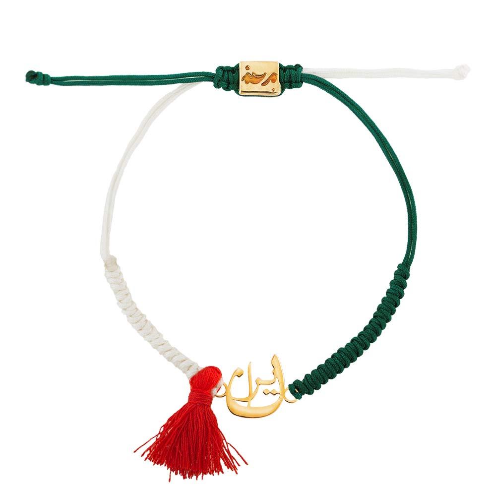 دستبند طلا بافت ایران