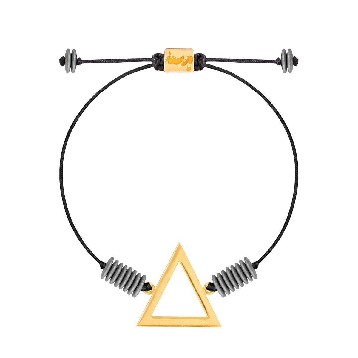 دستبند طلا عنصر آتش بزرگ