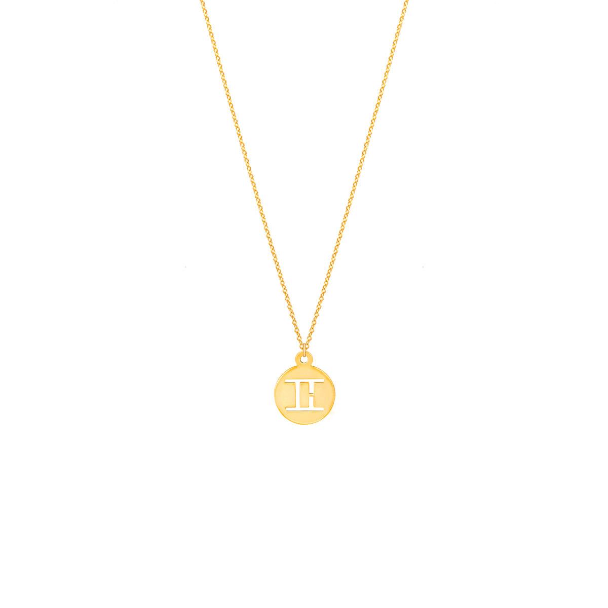 پرسته گردنبند طلا نماد ماه خرداد