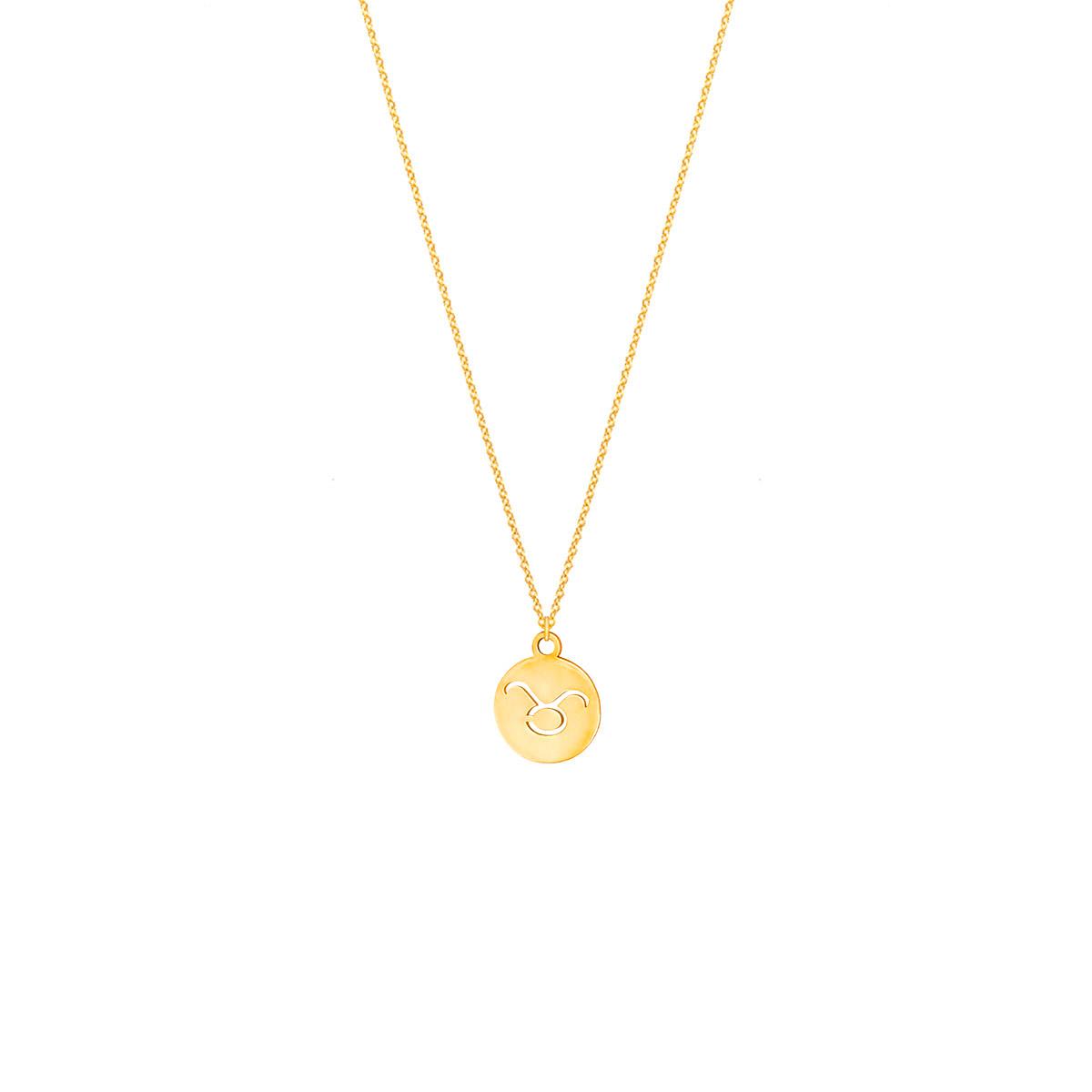 پرسته گردنبند طلا نماد ماه اردیبهشت