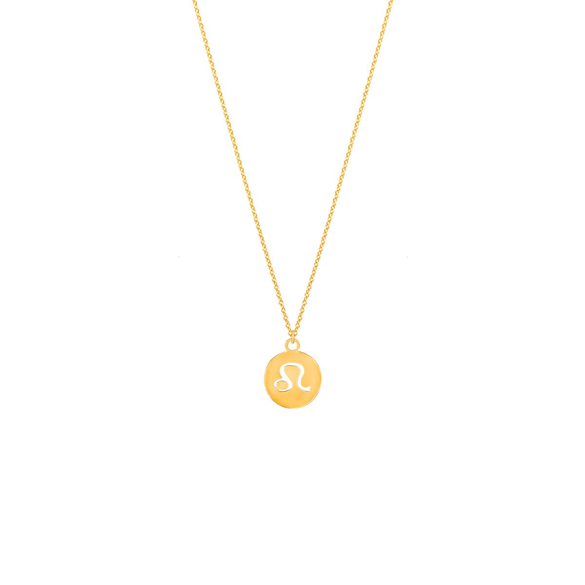 پرسته گردنبند طلا نماد ماه مرداد